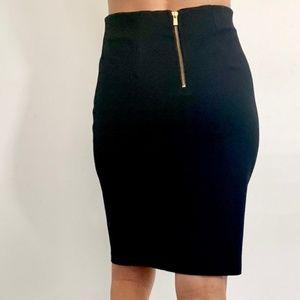 Philosophy black pencil skirt stretch size 8